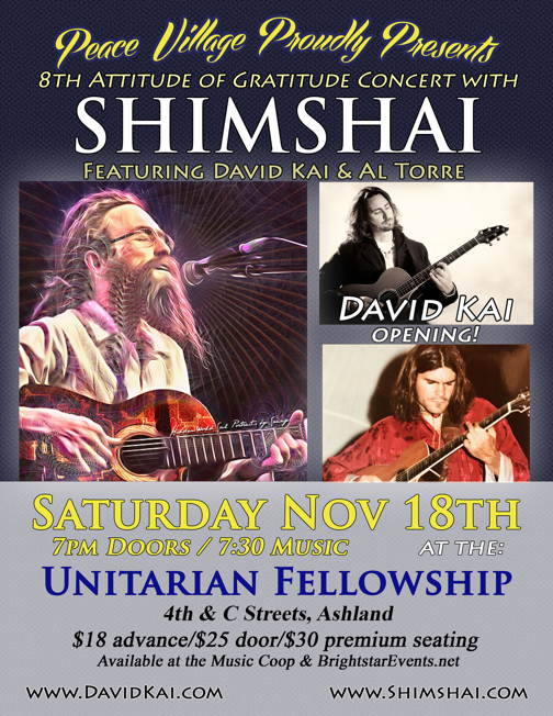 Attitude of Gratitude Concert with Shimshai