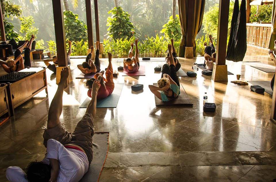 Group Yoga Villa Gaia