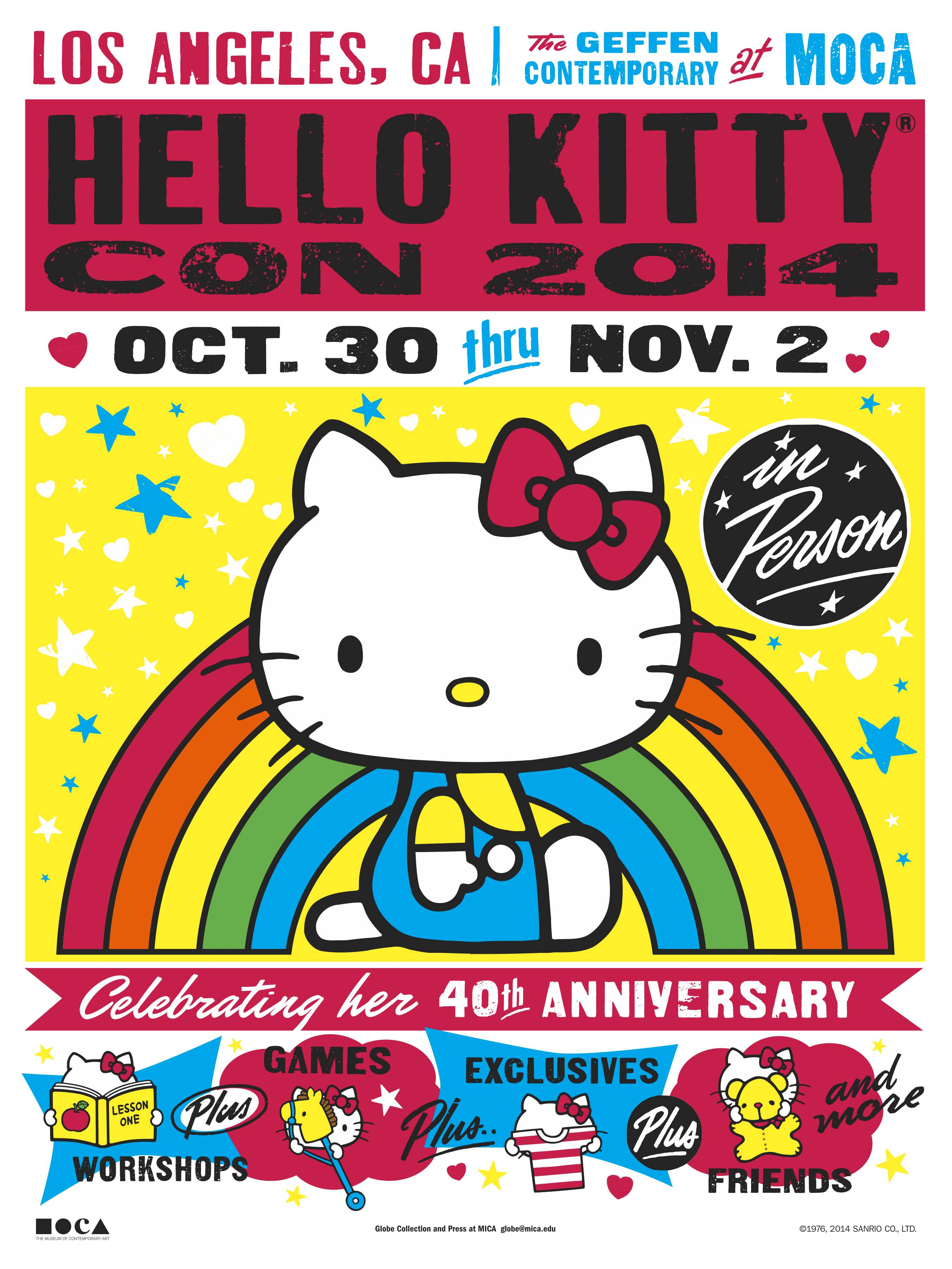 Hello Kitty Con Poster