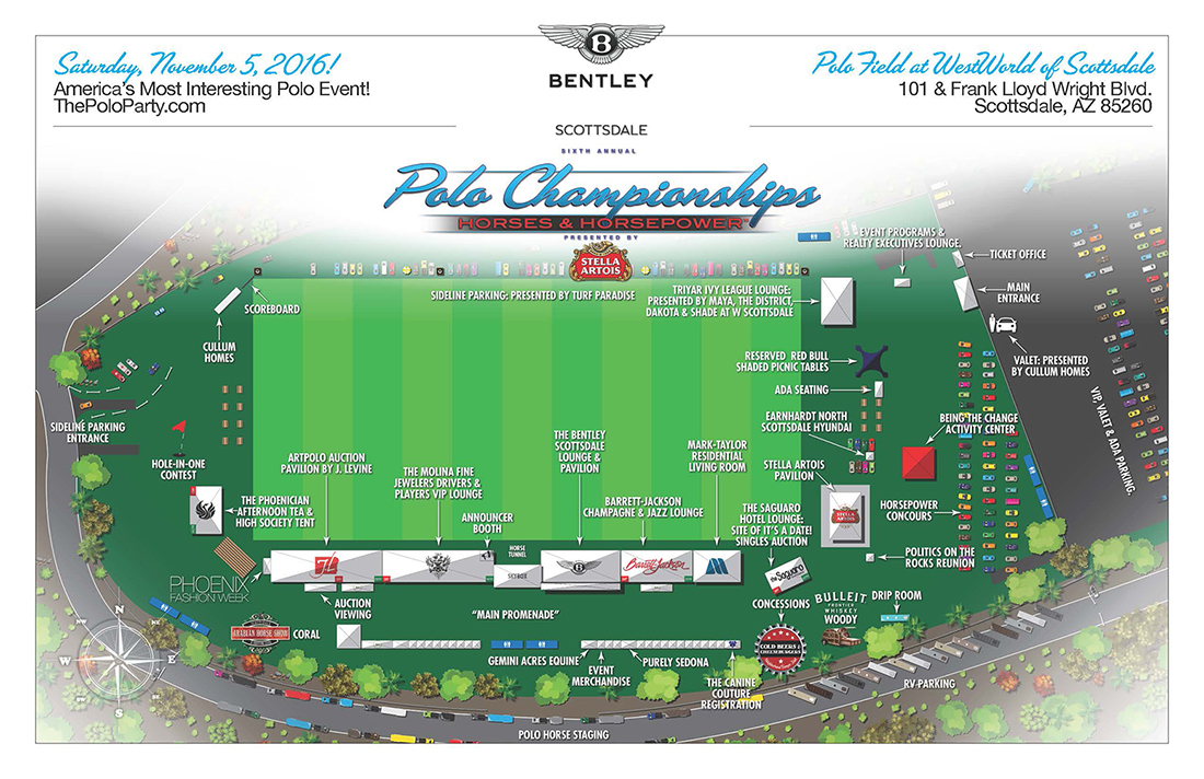 Polo Party 2016 Sitemap