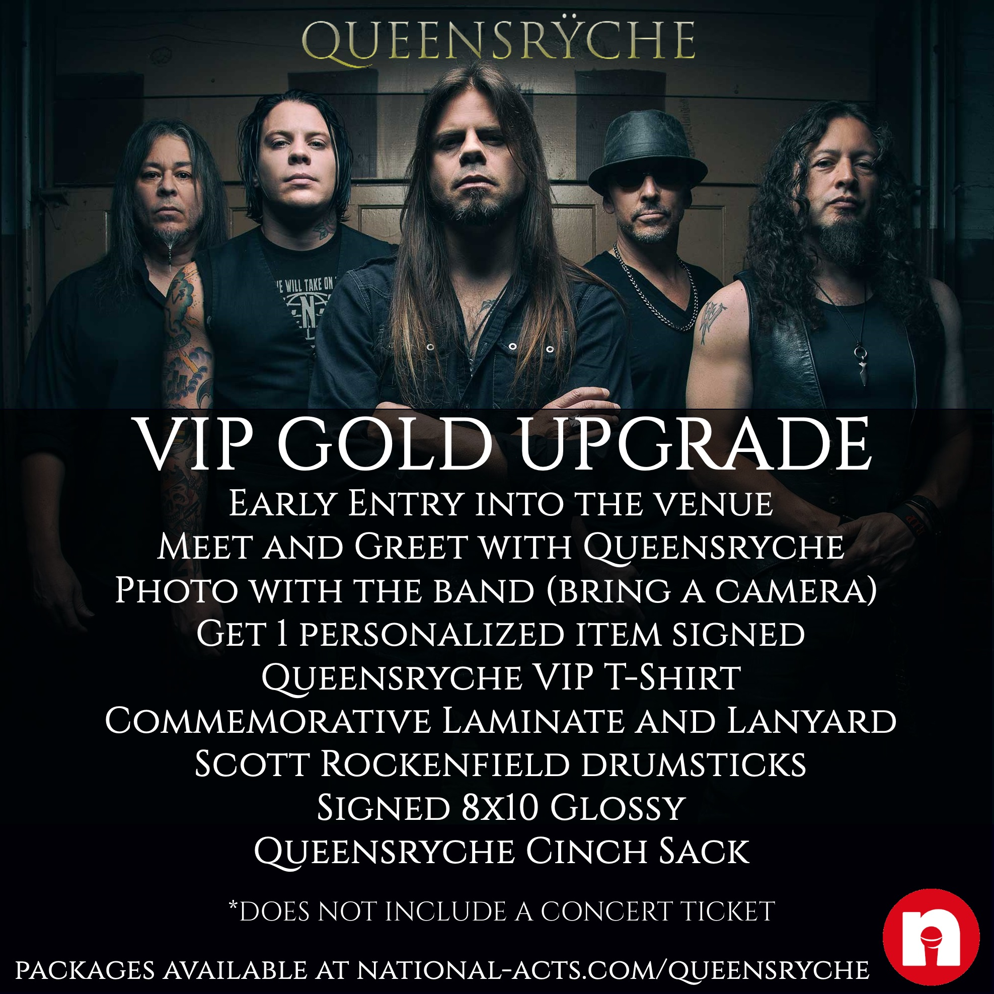 Tickets for queensryche vip st charles il in st charles from queensryche vip st charles il kristyandbryce Images