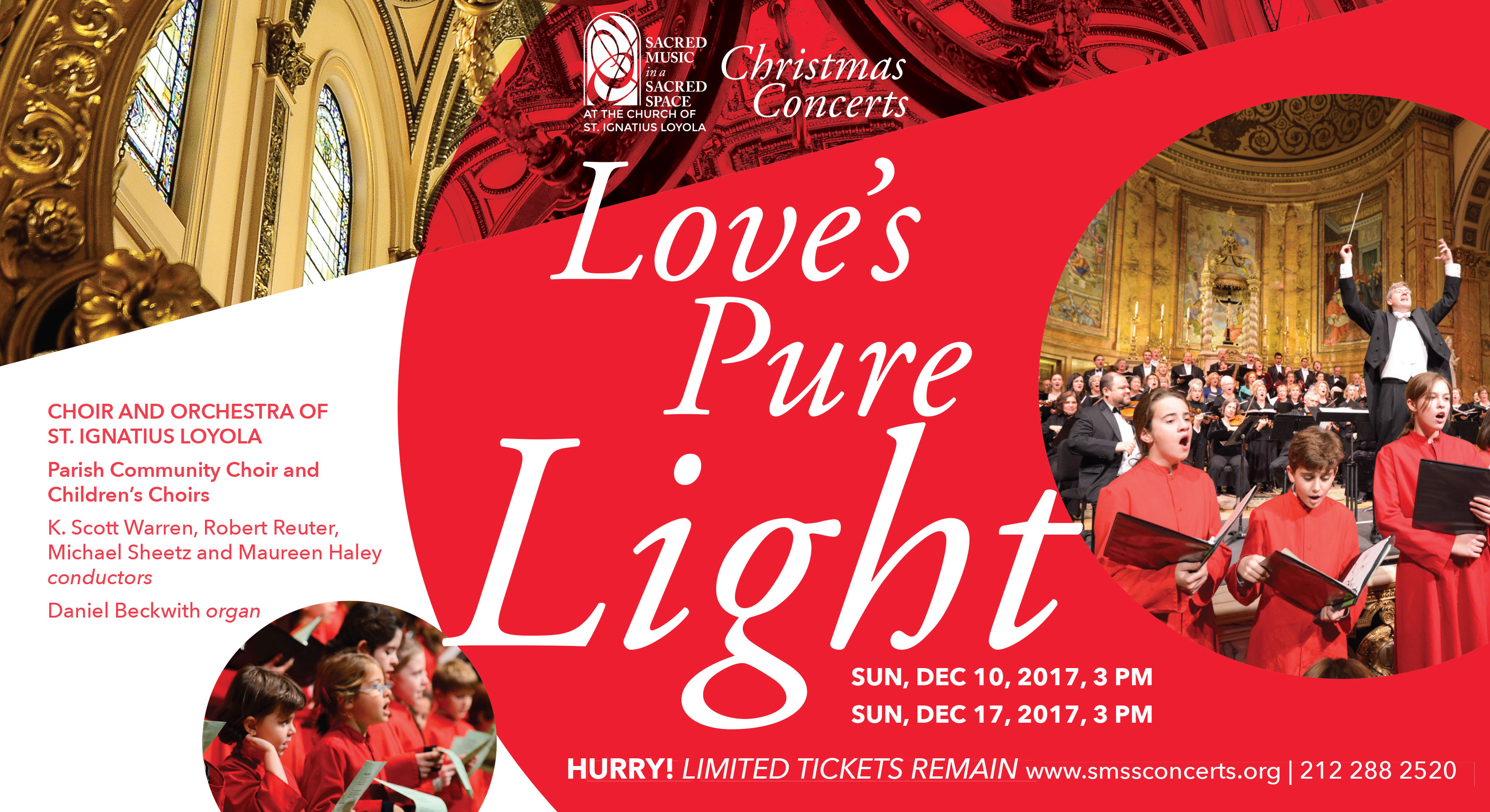 Tickets for Love\'s Pure Light - Christmas Concert - Dec 10 in New ...