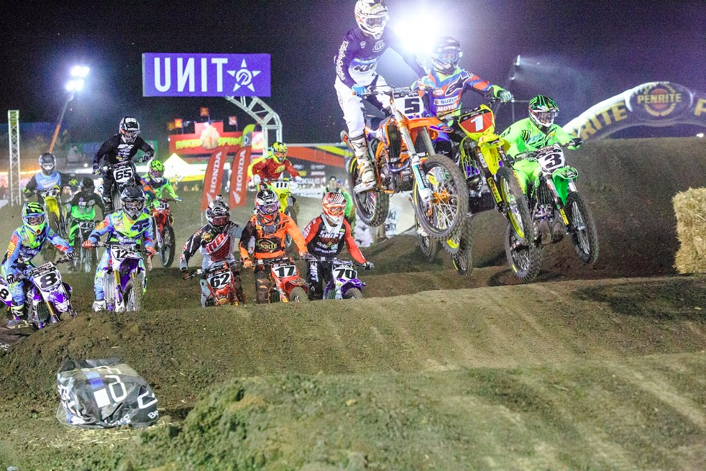 International Australias Best Supercross Riders Will Battle It Out At The Jimboomba X Stadium In A Revamped Track Design Adding Newly Designed Jumps And