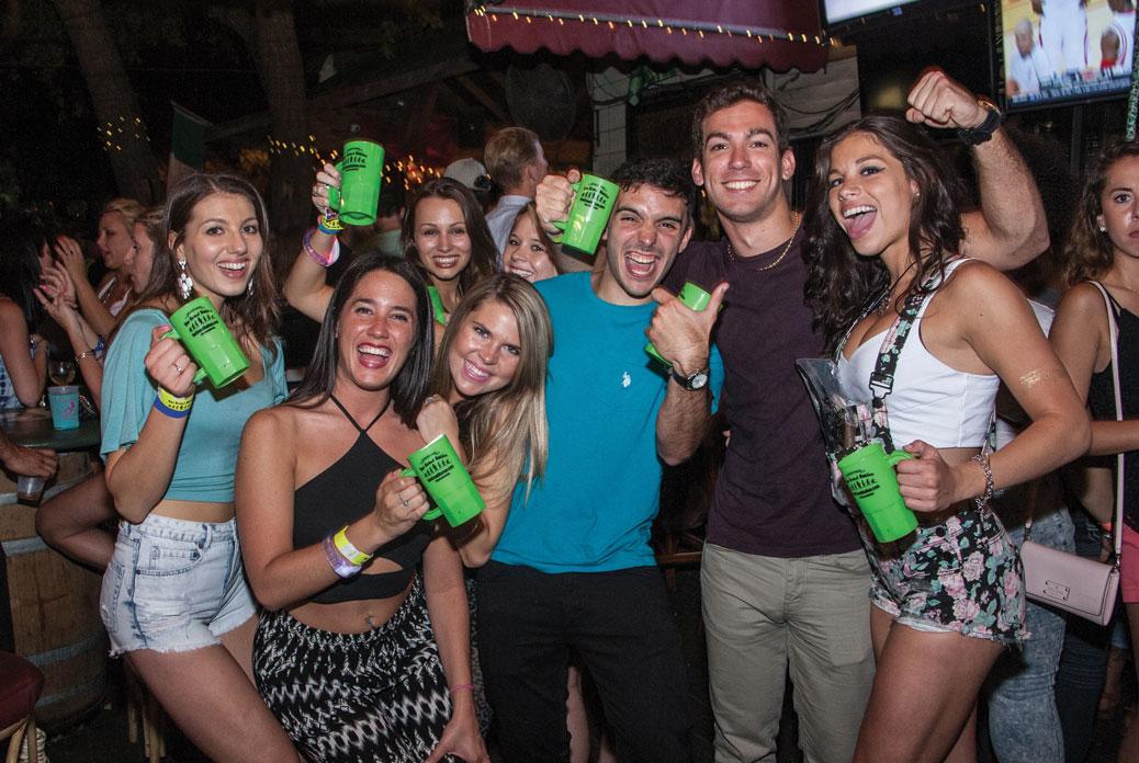 People having fun at Bar Crawl Nation: Tampa