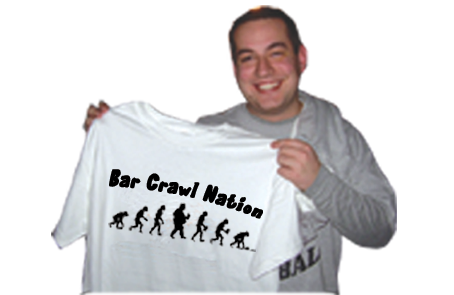 Bar Crawl Nation Tampa T-Shirt